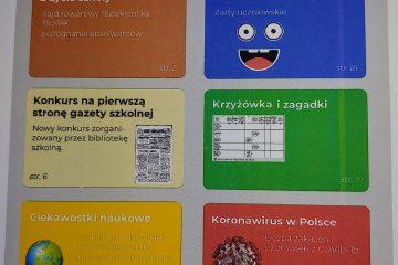 projekt gazetki szkolnej