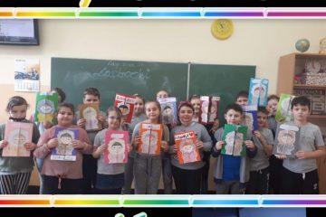 Lapbooki w wykonaniu uczniów klasy 3b